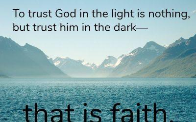 Trusting God in Times of Turmoil