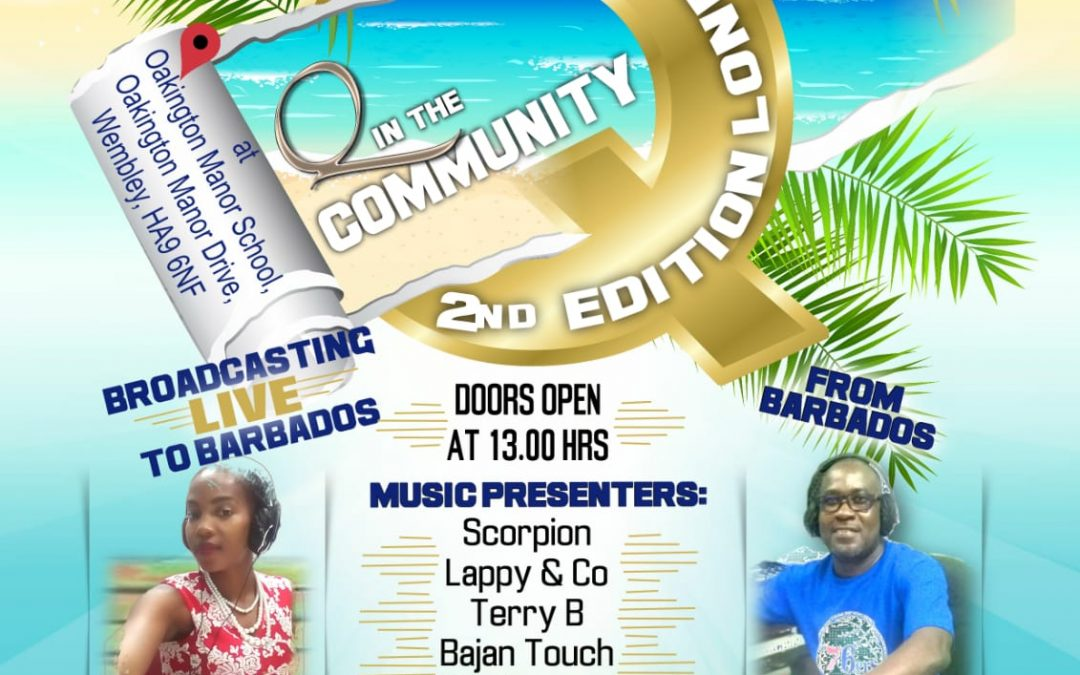 Q in the Community Event flyer